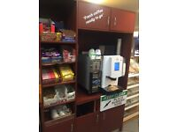 STAND ALONE UNIT TO HOUSE COFFEE MACHINE