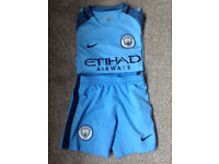 Man City Football Kit - Junior