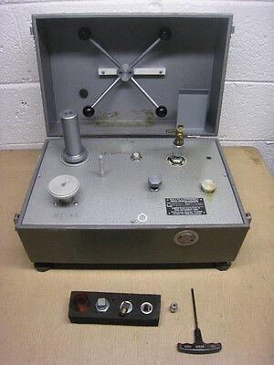 Used Pressurements Type M19003 2-4000 Psi Range Dead Weight Tester Free Ship