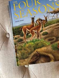 The Four Seasons Children's Book - NEW!