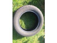 4x Part worn tyres 195/60/R15