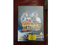 Reduced 'Back To The Future' Trilogy 3 film DVD Boxset New