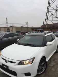 2011 Scion tC COUPE!AUTO!4CYL!PANOROOF!CERTIFIED