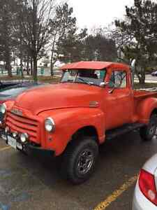 1950 GMC Pick Up 4X4 on 1977 Truck 1500 frame Auto-