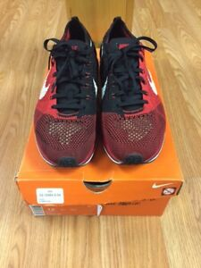 Nike Flyknit Racer University Red Size 11.5 $140
