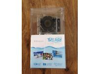 Kitvision Splash Waterproof Full HD 1080p Action Camera with Mounting Accessories