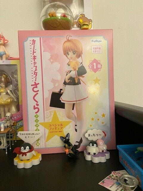 Card Captor Sakura Clear Card Special Figure Tomoeda Junior High school uniform