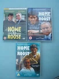 Home to Roost - Series 1, 2 & 3 DVD Boxsets (4 discs)