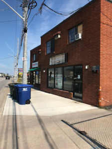 Commercial unit for rent on Tecumseh build to suit