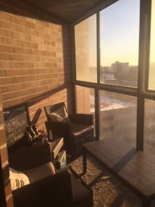 Sublet DT Apartment $946/month INCLUDES insuite washer & dryer
