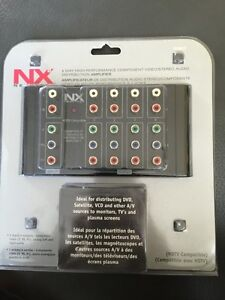 NEW Component video/stereo distributor