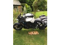 BMW K1200R with comprehensive service history and full Luggage