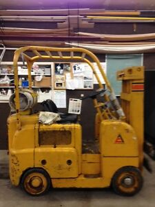 Propane Forklift Tow Motor To Sell As Is