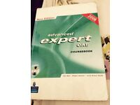 Advance expert CAE english coursebook + CD