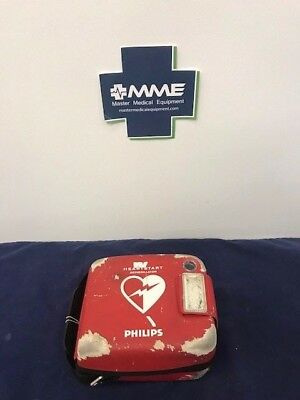 Philips Heartstart Frx Aed W Battery New Pads Case Wcosmetic Issues - 861304