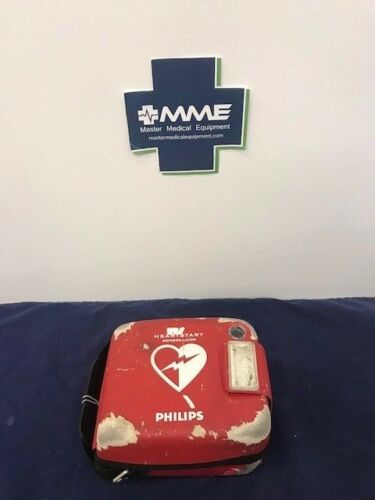 Philips HeartStart FRx AED w/ Battery, New Pads, Case w/Cosmetic issues - 861304