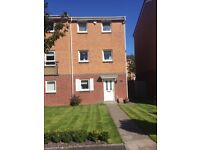 Town house for sale 3/4 bed with garage and drive in Llanelli 100metres from Millenium Coastal Path