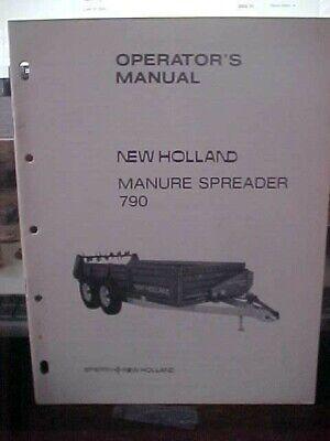 Om New Holland Manure Spreader 790 1h