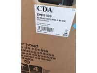 CDA EVP61SS Linear Kitchen Extractor/Hood/Chimney - NEW & BOXED