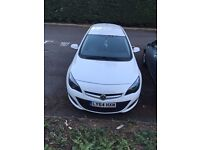 White 2014 (64 plate) Vauxhall Exite FOR RENT £300 PER MONTH!!