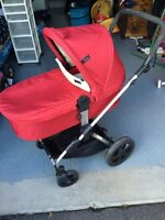 Icoo stroller with Bassinet
