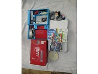Nintendo Wii Red 25th Anniversary limited edition console (PAL edition), Balance board and games