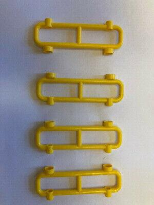Lego 1x8x2 Fence Bar Railing Guard Rail Barrier 4 pieces