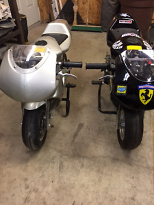 Two Pocket Bikes For sale