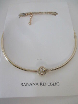 - Banana Republic Double Link Necklace NWT $59.99