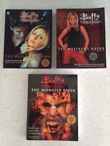 3 Books Buffy The Vampire Slayer Watchers Guides and Monster