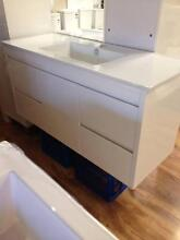 New 1200 Wall Hung Vanity with China Top soft close Woy Woy Gosford Area Preview