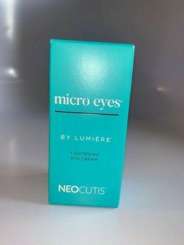 Neocutis Micro Eyes by Lumiere Tightening Eye Cream 0.5oz/15mL NEW FAST AMAZING$