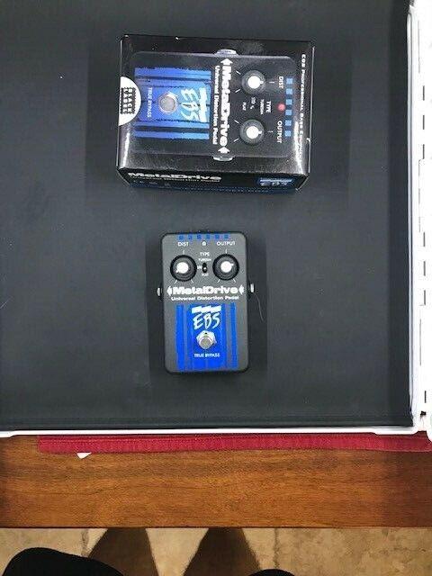 EBS Metal Drive Guitar Pedal - $40.00