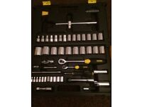Stanley MicroTough X65 1/4 & 1/2 inch Socket Set