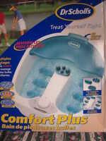 Bain de pieds avec bulles Dr Scholl's Footbath with Bubbles