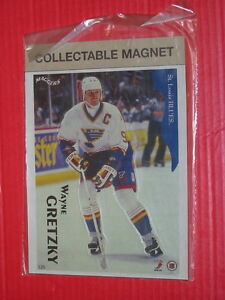 For Sale: 1996 Maggers 6x7.5 inch die-cut Hockey Magnets