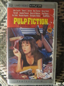 SONY PSP MOVIE & GAME UMD'S [PULP FICTION,LABRYNTH,SUPERBAD&MORE