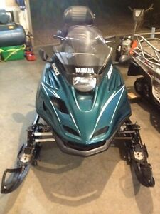 1997 Yamaha Venture 600 2 up touring snowmobile for sale