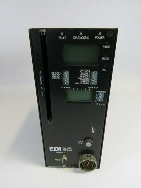 EDI SSM6LE-CAN Signal Monitor  USED