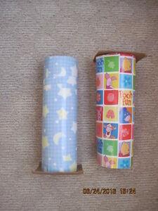 x2 Huge Rolls of Hallmark Children's Wrapping Paper