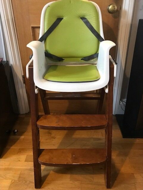 431f707ba3ee6 OXO Tot Sprout Highchair (Green Walnut)