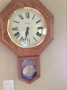 Bulova Quartz Wall Clock