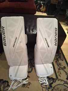 Goalie Gear: Pads, Mask, Neck Guard, Skates, Chest Protector