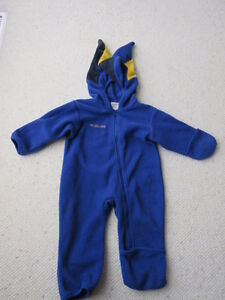 Columbia 18 month fleece bunting outfit