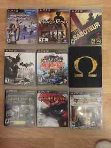 PS3 & PS2 Games all in great shape some played once