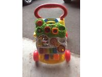 Colourful baby walker
