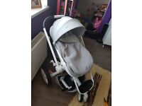 quinny moodd grey used 2 months in great condition
