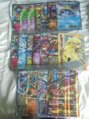 Pokemon lot of 18 DIFFERENT EX Jumbo Cards - Brand New and Sleeved Ultra Holo
