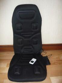 Heated & Vibrating 12volt Car Seat Cover (Car Massage Mat)