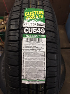 225 75 15 Brand New White Wall Tires